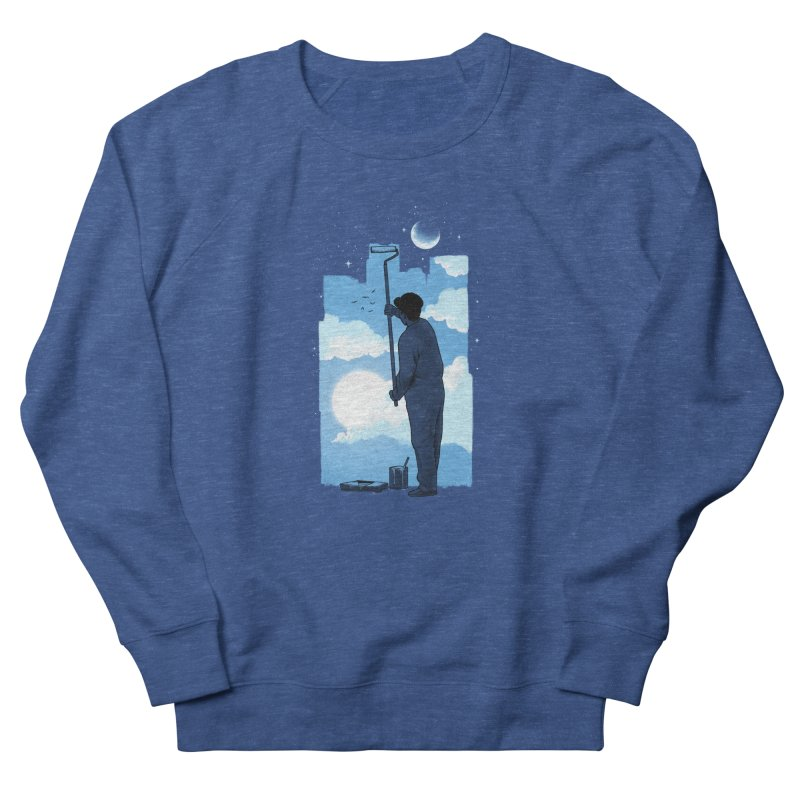 Turn of day Men's French Terry Sweatshirt by ES427's Artist Shop