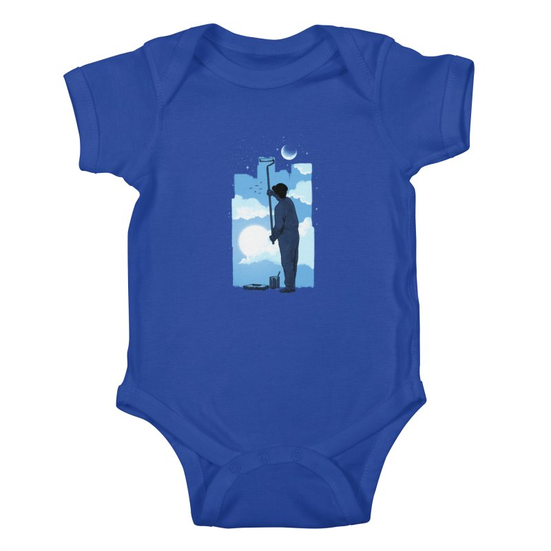 Turn of day Kids Baby Bodysuit by ES427's Artist Shop