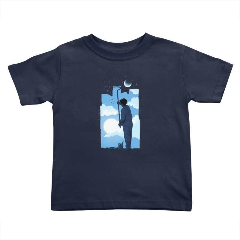 Turn of day Kids Toddler T-Shirt by ES427's Artist Shop