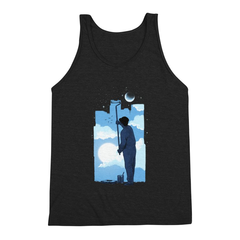 Turn of day Men's Triblend Tank by ES427's Artist Shop