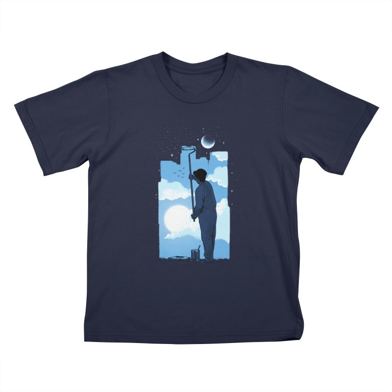 Turn of day Kids T-Shirt by ES427's Artist Shop