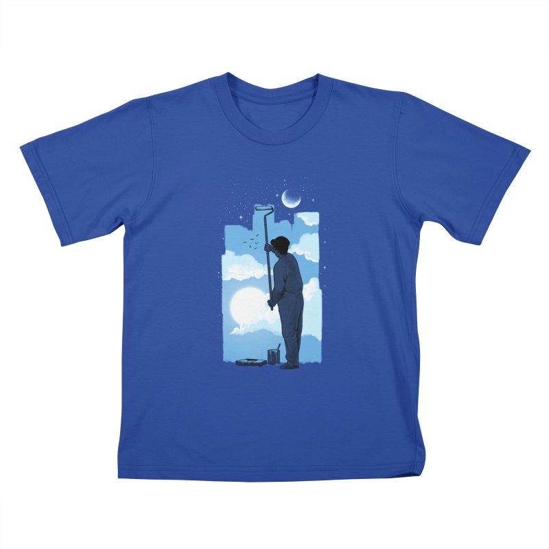 Turn of day Kids T-Shirt by ES427's Artist Shop