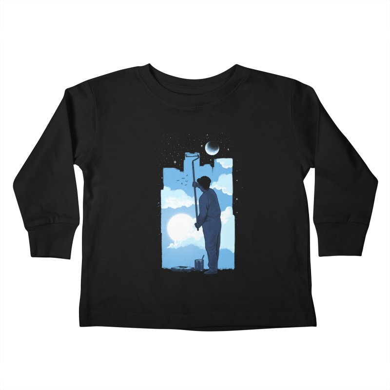 Turn of day Kids Toddler Longsleeve T-Shirt by ES427's Artist Shop
