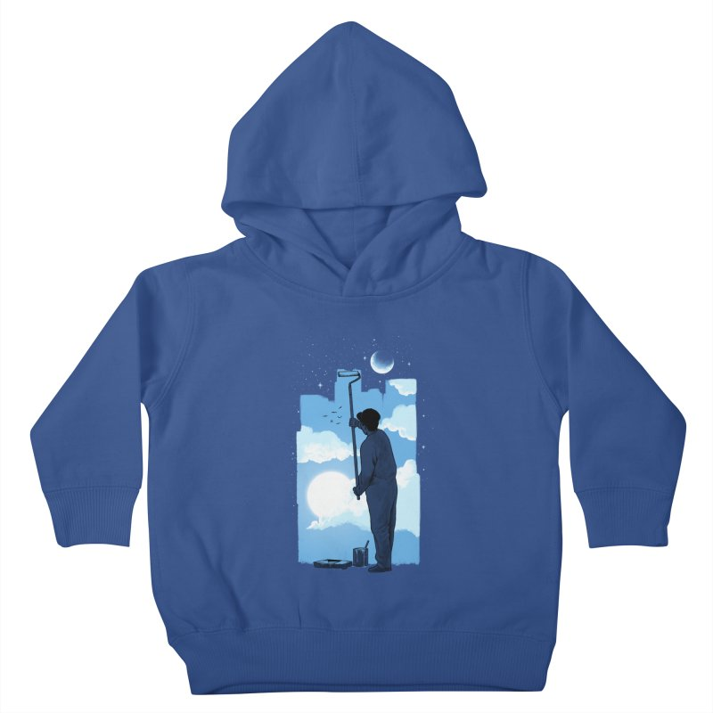 Turn of day Kids Toddler Pullover Hoody by ES427's Artist Shop
