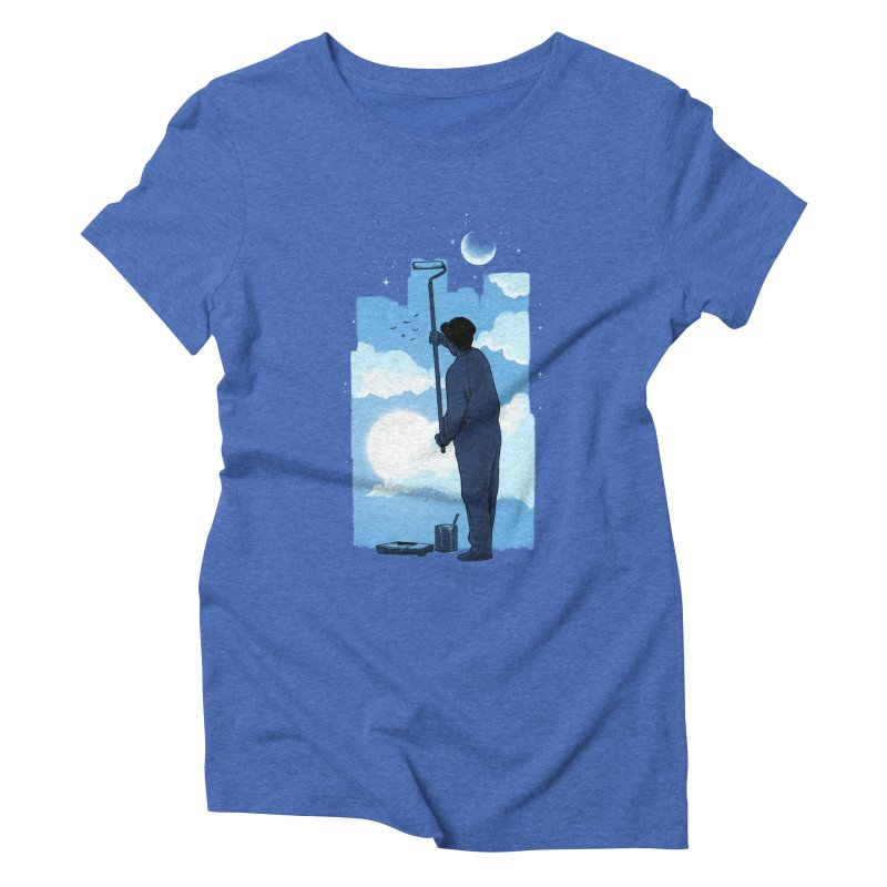 Turn of day Women's Triblend T-Shirt by ES427's Artist Shop