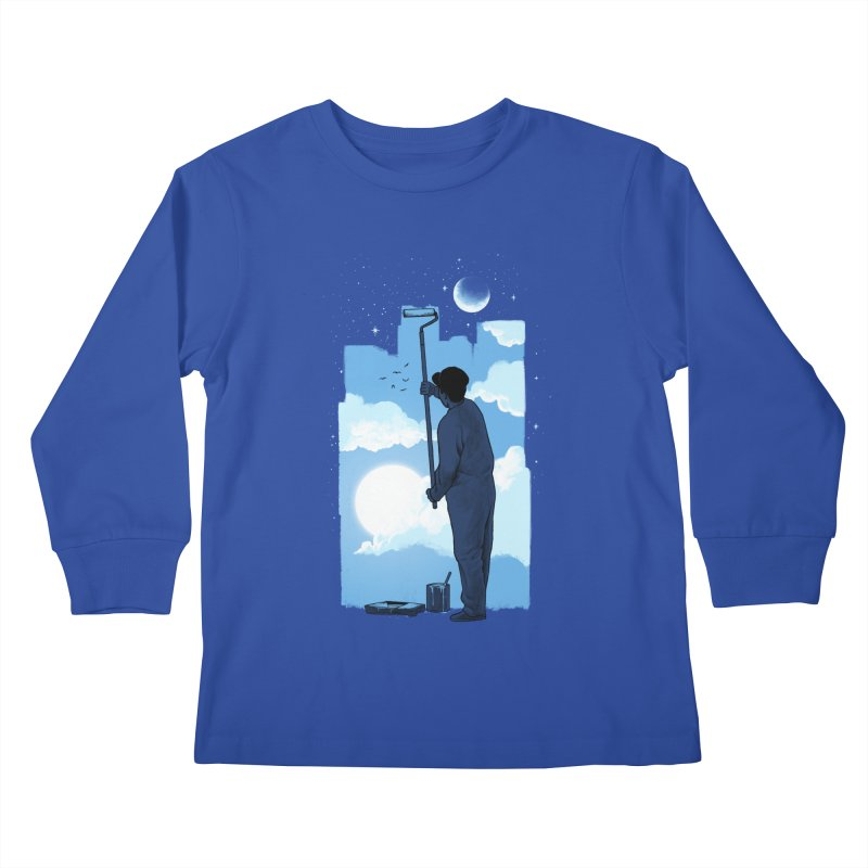 Turn of day Kids Longsleeve T-Shirt by ES427's Artist Shop