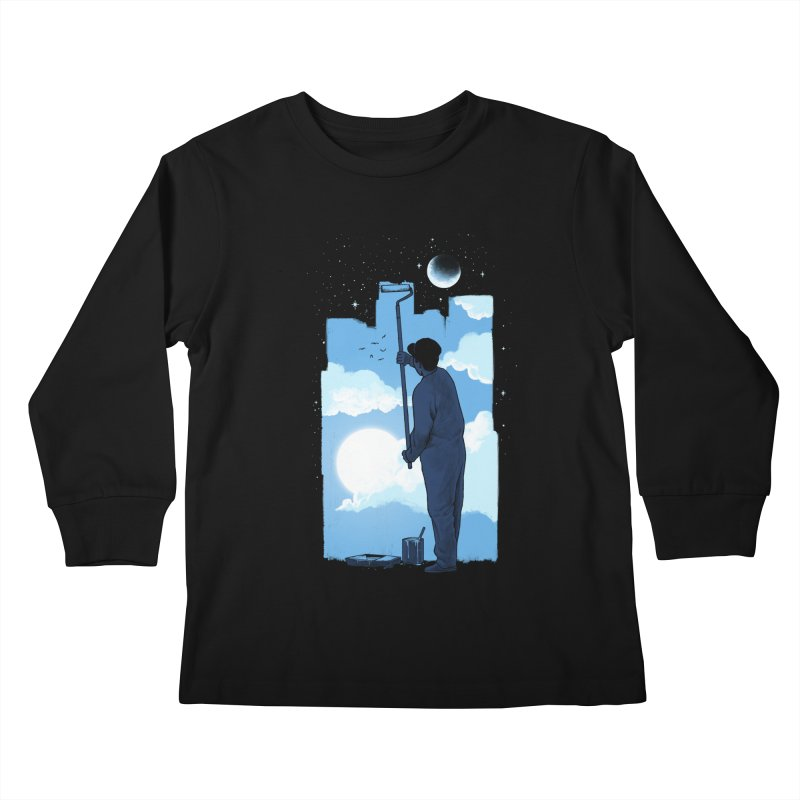 Turn of day Kids Longsleeve T-Shirt by ES427's Artist Shop