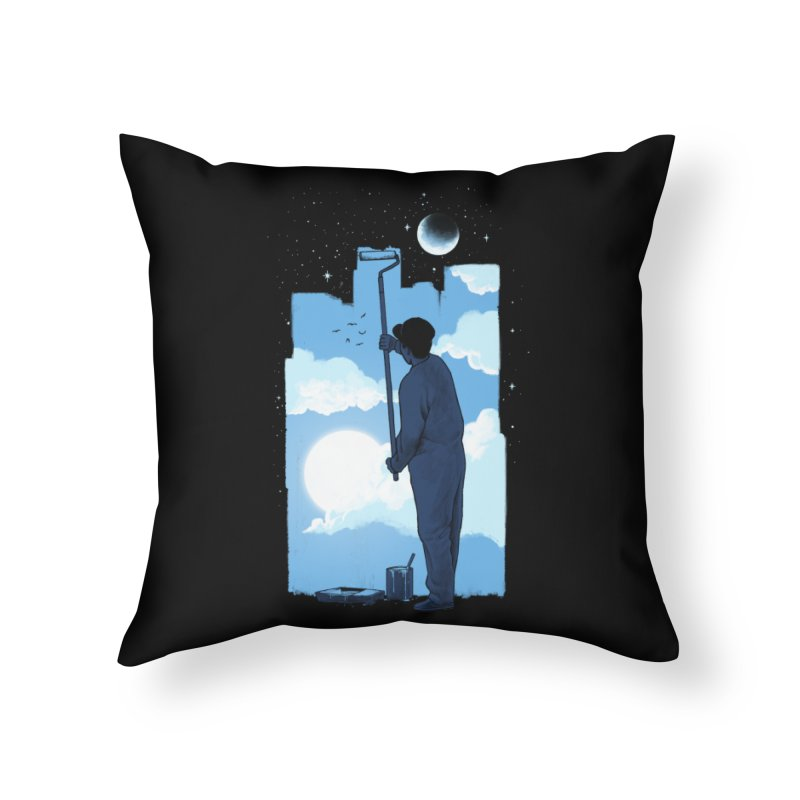 Turn of day Home Throw Pillow by ES427's Artist Shop