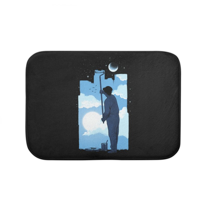 Turn of day Home Bath Mat by ES427's Artist Shop