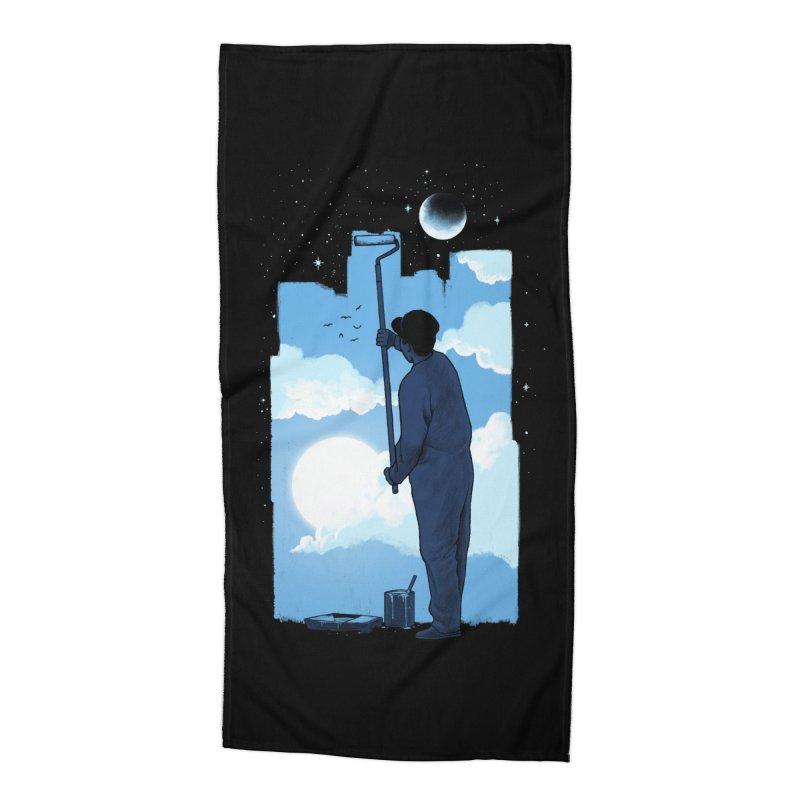 Turn of day Accessories Beach Towel by ES427's Artist Shop