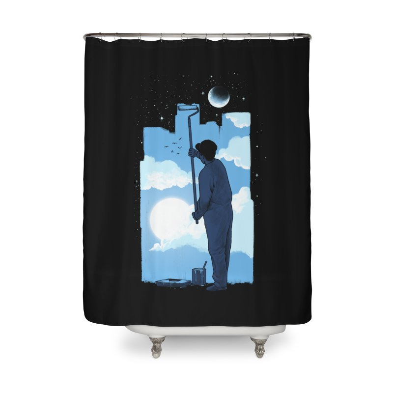 Turn of day Home Shower Curtain by ES427's Artist Shop