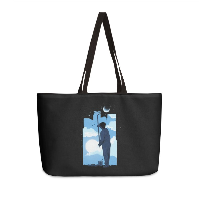 Turn of day Accessories Weekender Bag Bag by ES427's Artist Shop