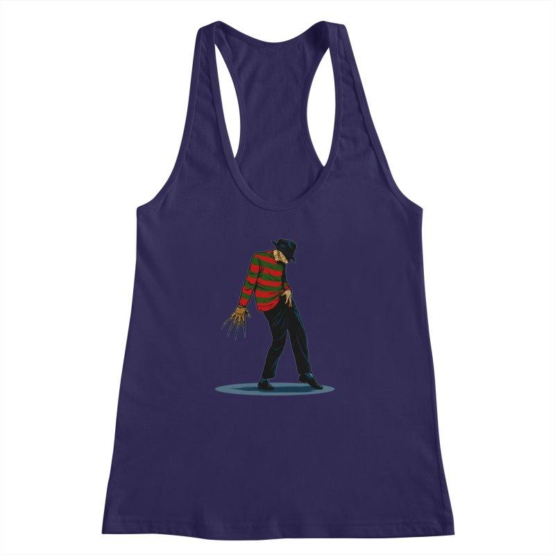 FREDDY CAN DANCE Women's Racerback Tank by ES427's Artist Shop