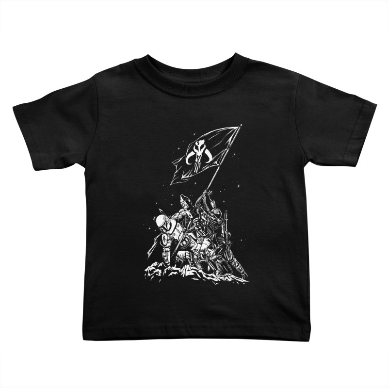 RISE OF THE BOUNTY HUNTERS Kids Toddler T-Shirt by ES427's Artist Shop