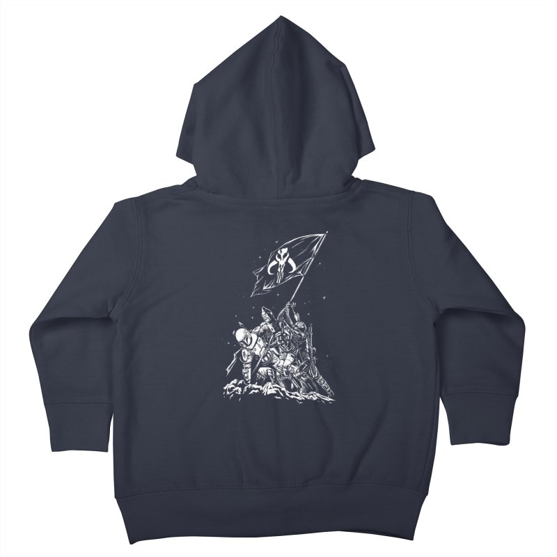 RISE OF THE BOUNTY HUNTERS Kids Toddler Zip-Up Hoody by ES427's Artist Shop