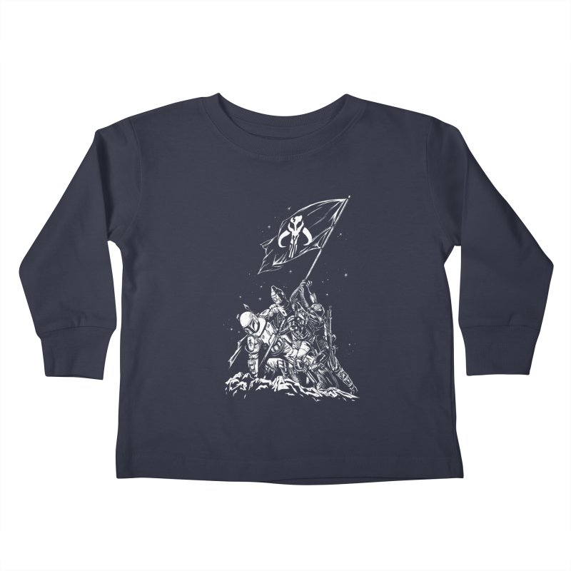RISE OF THE BOUNTY HUNTERS Kids Toddler Longsleeve T-Shirt by ES427's Artist Shop