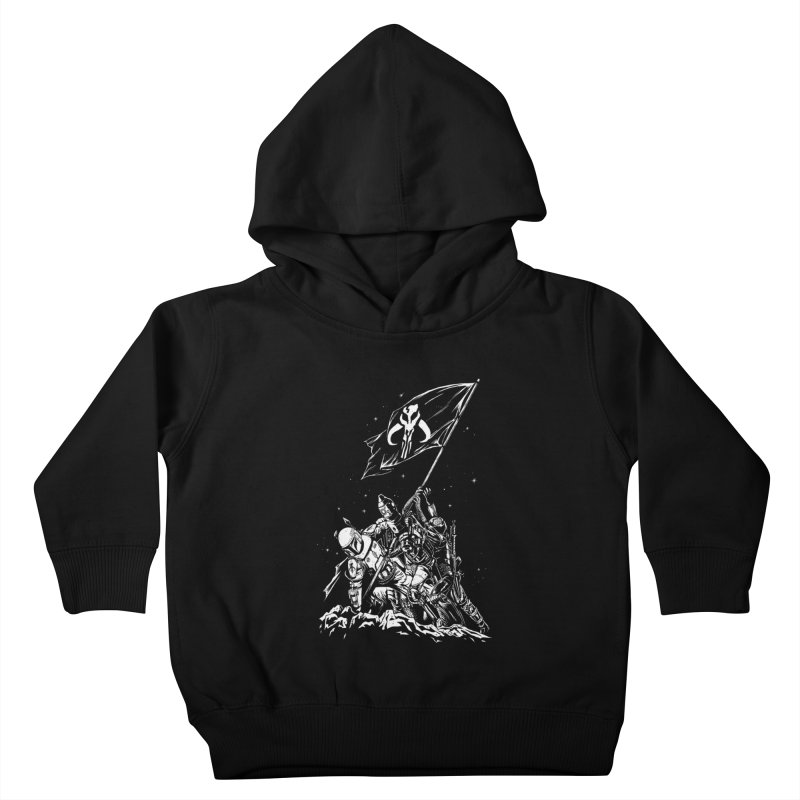 RISE OF THE BOUNTY HUNTERS Kids Toddler Pullover Hoody by ES427's Artist Shop