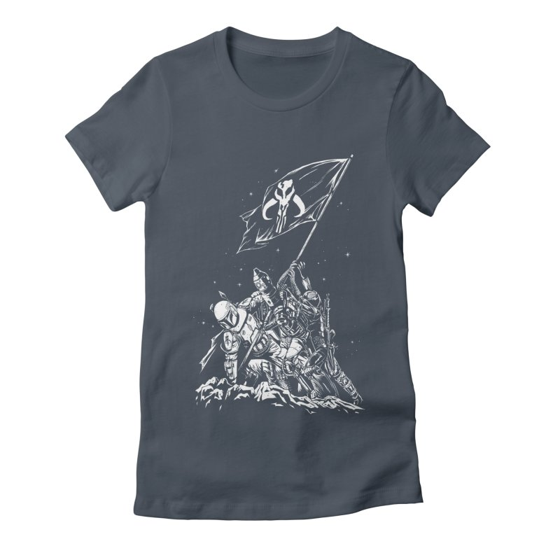 RISE OF THE BOUNTY HUNTERS Women's Fitted T-Shirt by ES427's Artist Shop