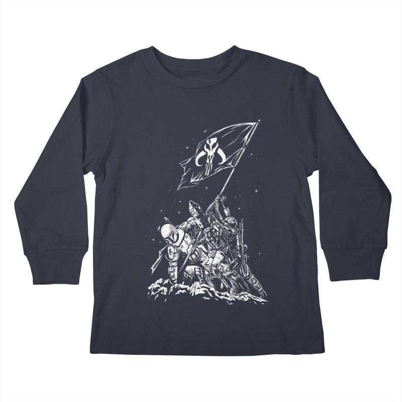RISE OF THE BOUNTY HUNTERS Kids Longsleeve T-Shirt by ES427's Artist Shop