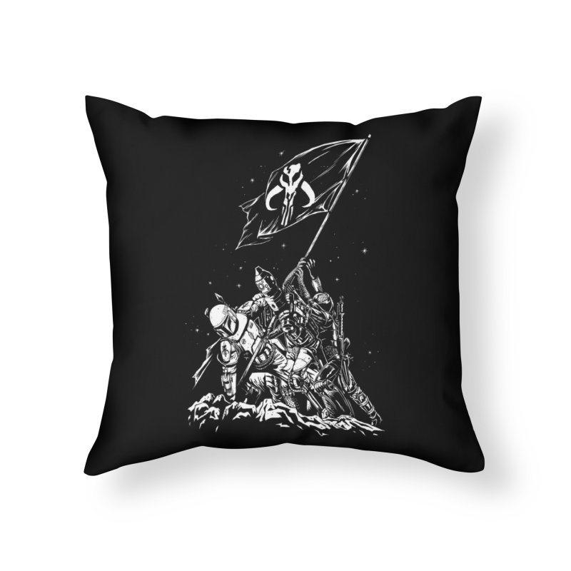RISE OF THE BOUNTY HUNTERS Home Throw Pillow by ES427's Artist Shop
