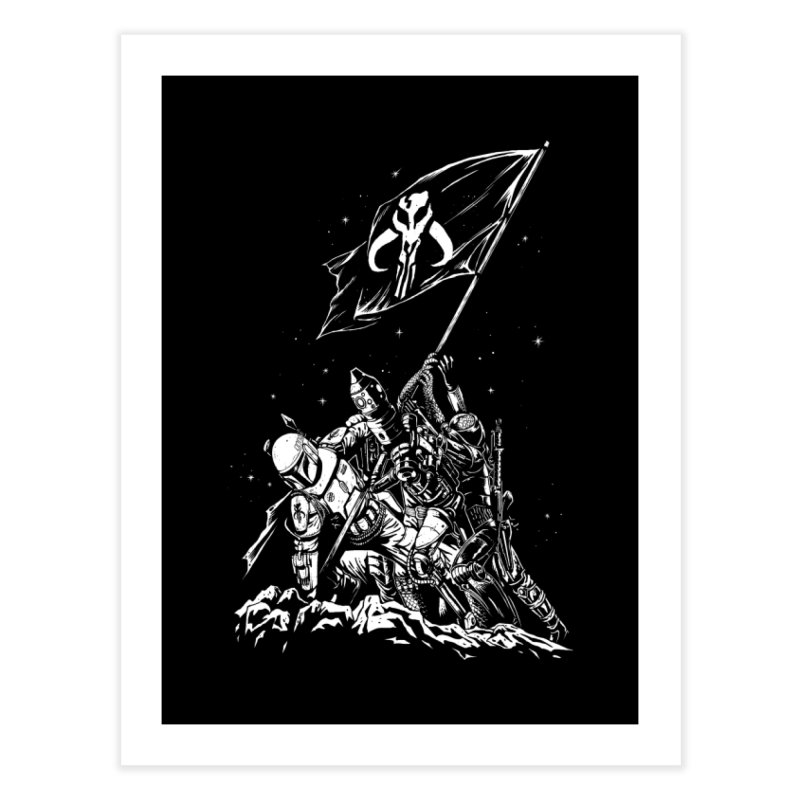 RISE OF THE BOUNTY HUNTERS Home Fine Art Print by ES427's Artist Shop