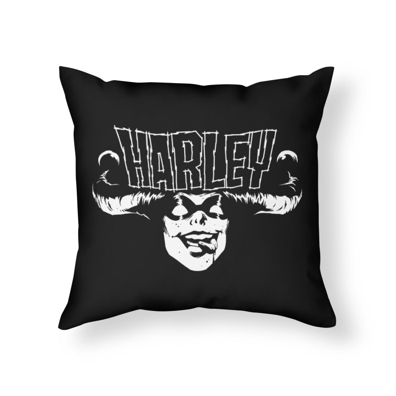 HARLEY Home Throw Pillow by ES427's Artist Shop