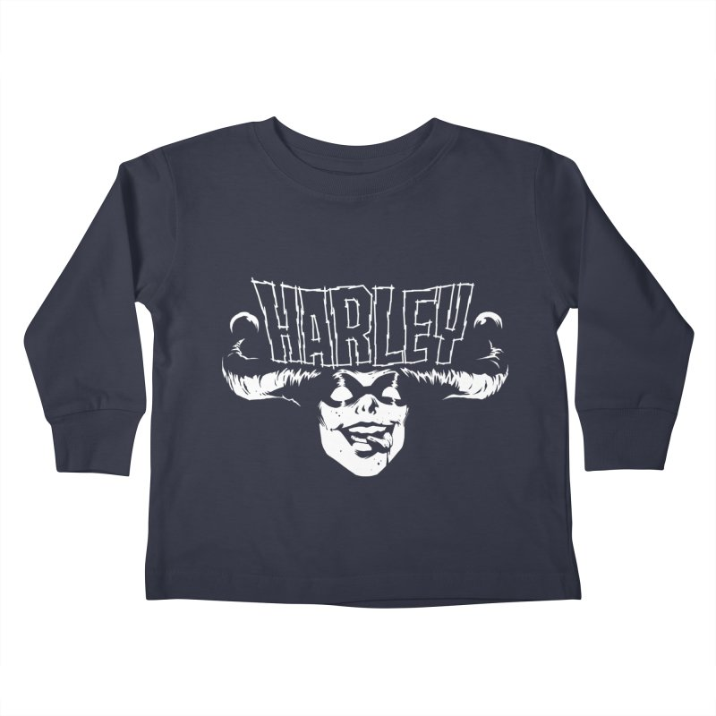 HARLEY Kids Toddler Longsleeve T-Shirt by ES427's Artist Shop