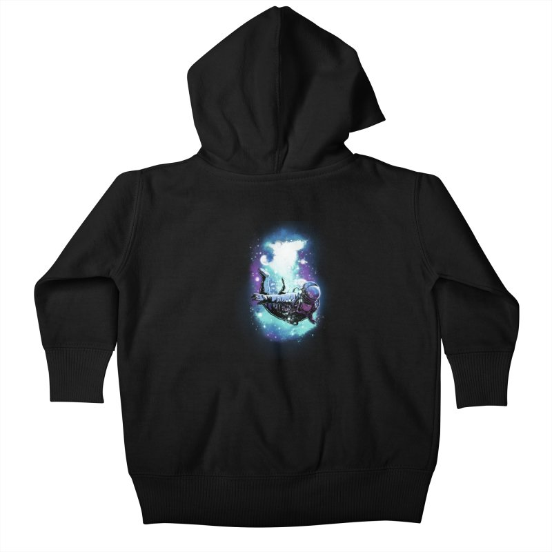 SPACE DIVING Kids Baby Zip-Up Hoody by ES427's Artist Shop