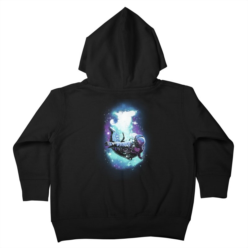 SPACE DIVING Kids Toddler Zip-Up Hoody by ES427's Artist Shop