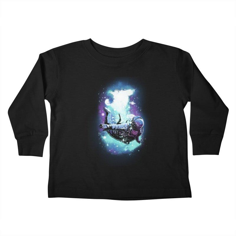 SPACE DIVING Kids Toddler Longsleeve T-Shirt by ES427's Artist Shop