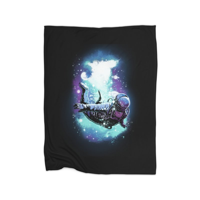 SPACE DIVING Home Blanket by ES427's Artist Shop