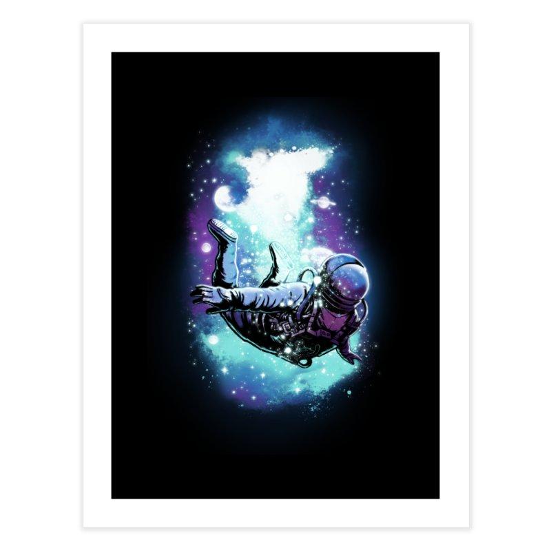 SPACE DIVING Home Fine Art Print by ES427's Artist Shop