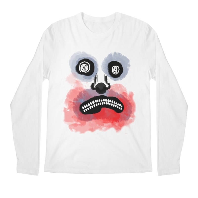 i'm smiling Men's Regular Longsleeve T-Shirt by ESA Creations