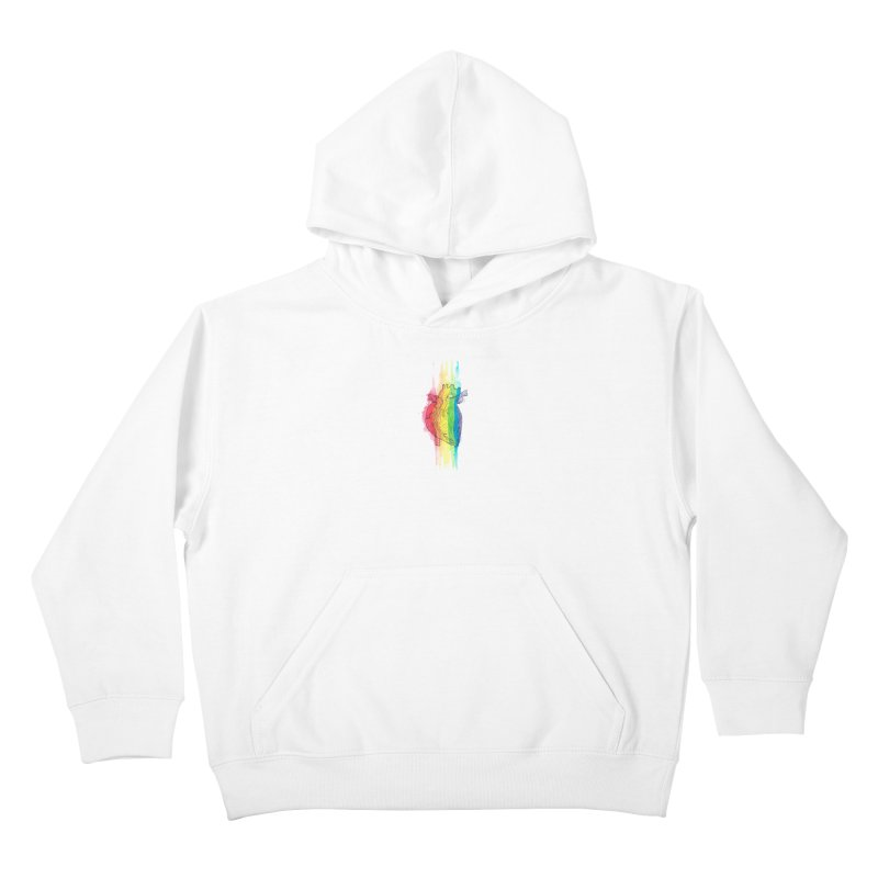 Love Wins Kids Pullover Hoody by ESA Creations