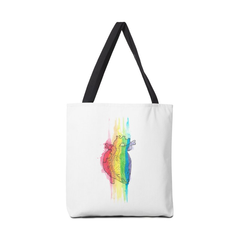 Love Wins Accessories Tote Bag Bag by ESA Creations