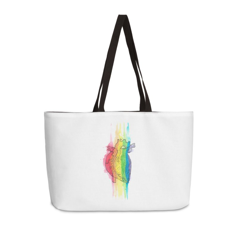 Love Wins Accessories Weekender Bag Bag by ESA Creations