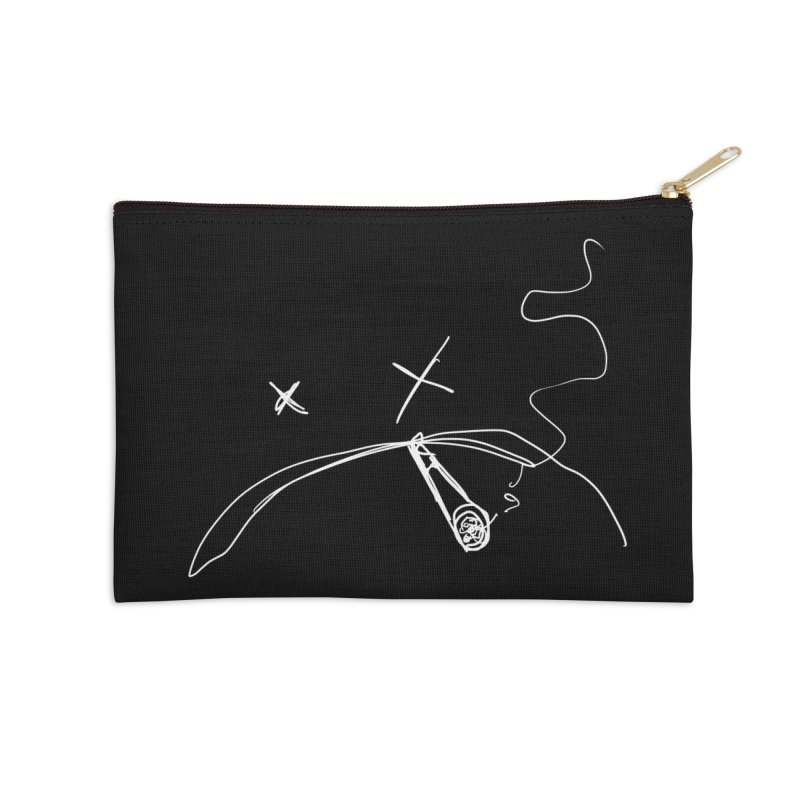 Dead (Inside And Out) Accessories Zip Pouch by ESA Creations