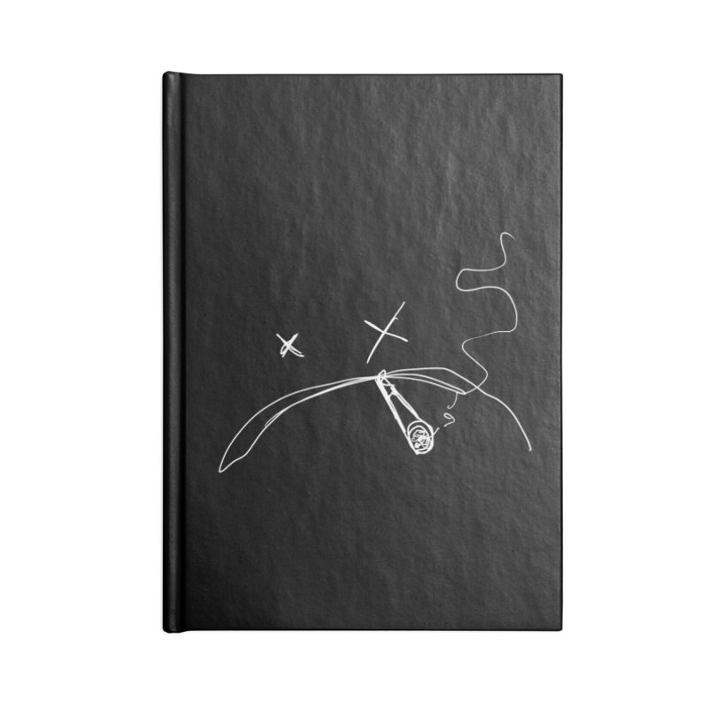 Dead (Inside And Out) Accessories Lined Journal Notebook by ESA Creations