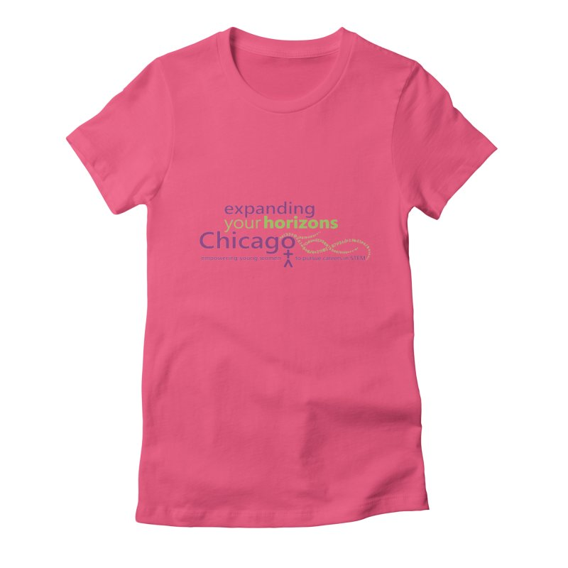 EYH Logo Tee Women's Fitted T-Shirt by EYHCHICAGO's Artist Shop