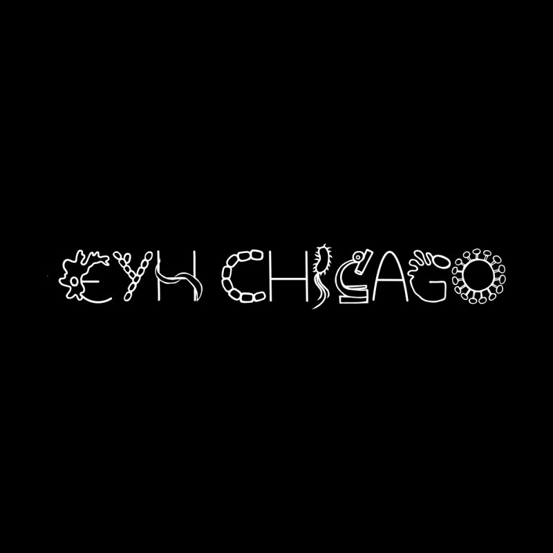 EYH Microbe Design Men's T-Shirt by EYHCHICAGO's Artist Shop