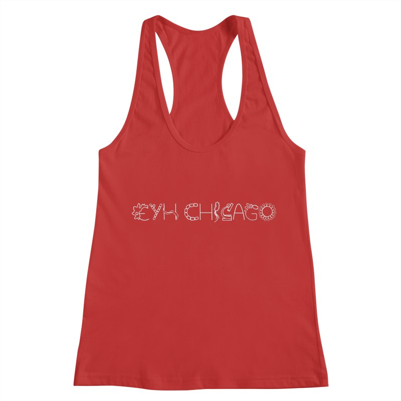 EYH Microbe Design Women's Racerback Tank by EYHCHICAGO's Artist Shop