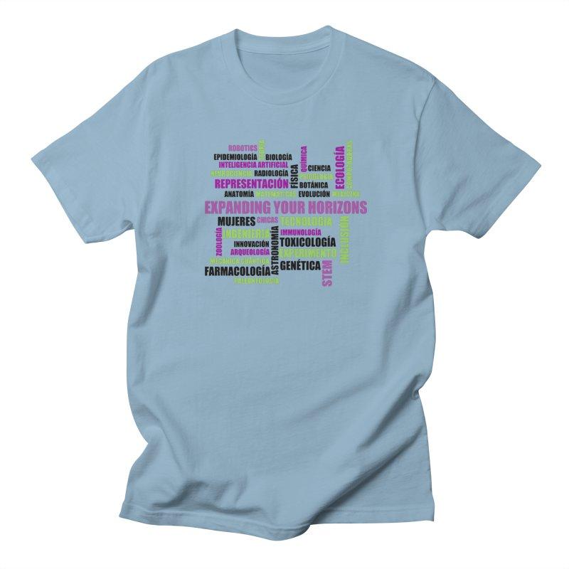 EYH Word Cluster Spanish Men's Regular T-Shirt by EYHCHICAGO's Artist Shop