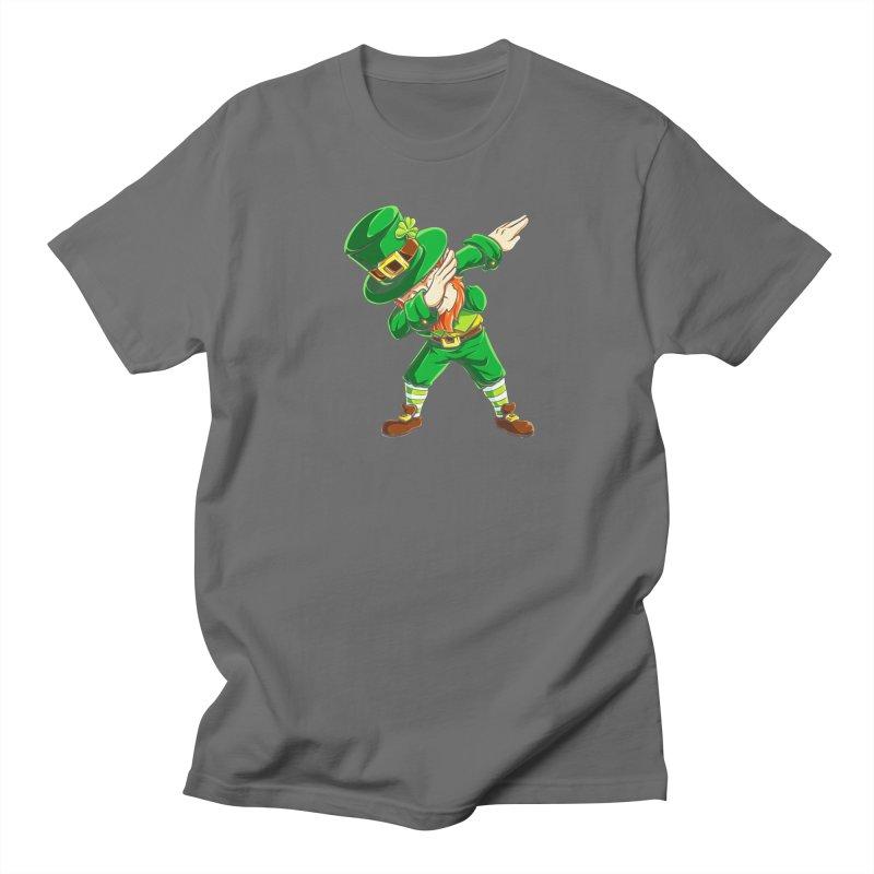 Earlmwargyk Dabbing Leprechaun T Shirt Funny Dab St Patricks Day