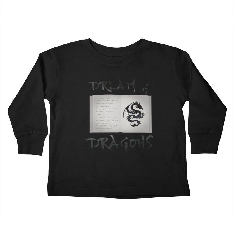 Design #4 Kids Toddler Longsleeve T-Shirt by EarnestWrites