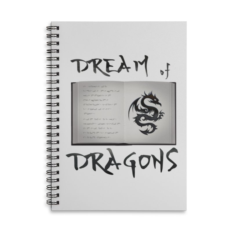 Design #4 Accessories Lined Spiral Notebook by EarnestWrites