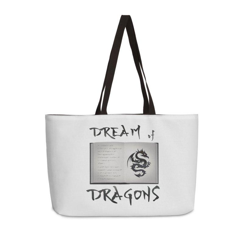 Design #4 Accessories Weekender Bag Bag by EarnestWrites
