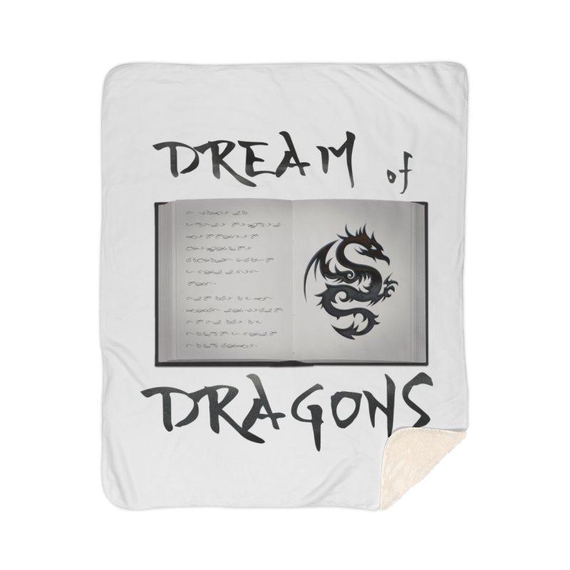 Design #4 Home Sherpa Blanket Blanket by EarnestWrites