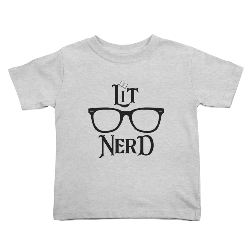 Design #5 (Black) Kids Toddler T-Shirt by EarnestWrites