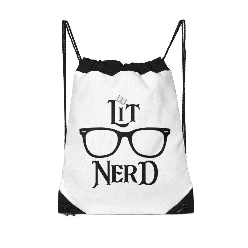 Design #5 (Black) Accessories Bag by EarnestWrites