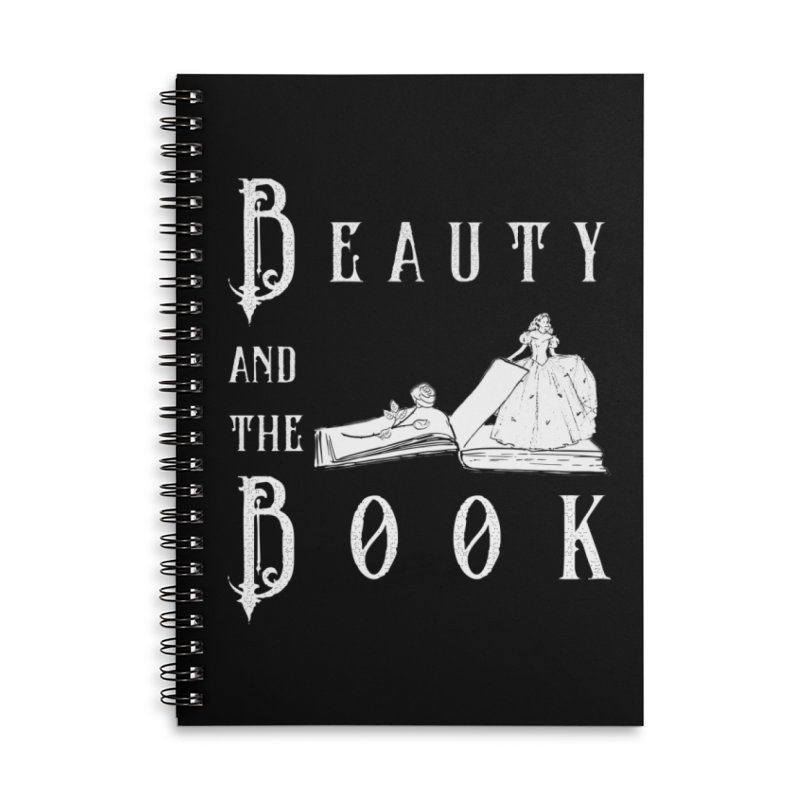 Design #6 Accessories Lined Spiral Notebook by EarnestWrites
